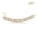 Picture of Diamanta Bracelet with Swarovski Element Golden