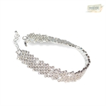 Picture of Diamanta Bracelet with Swarovski Elements - S
