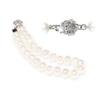 Picture of Classic White Freshwater Pearls Bracelet
