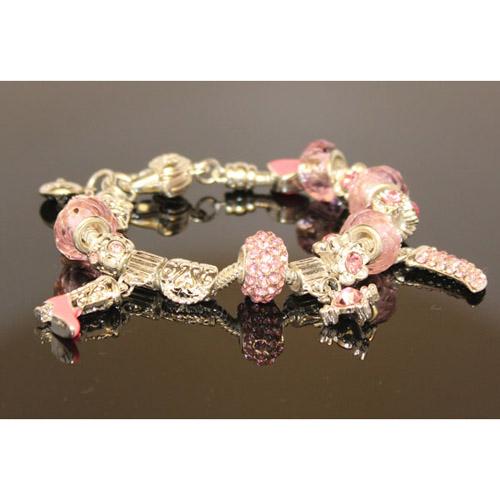 AthenaFashion. 925 Sterling Silver plated Baby pink ...  AthenaFashion. ...